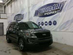 2017 Ford Explorer Sport W/ Ecoboost, Leather, Moonroof