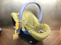 Cybex Baby Car Seat & IsoFix Base