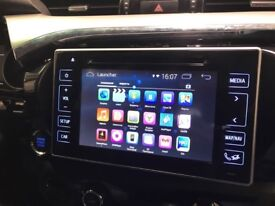 All Toyota OEM Android Interface 2013-2018