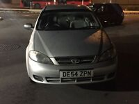 Car Daewoo LACETTI 2004 1399cc 12 month MOT cheap car for first time buyer