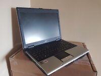 Acer 14.1 Inch laptop - Windows 7, AMD Turion 2Ghz, DVDRW, Working battery