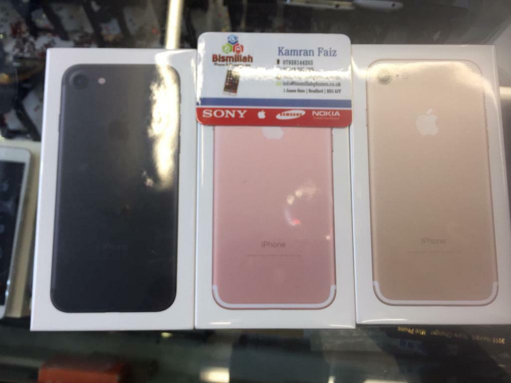 APPLE IPHONE 7 32GB EE T MOBILE VIRGIN BRAND NEW APPLE WARRANTYSHOP RECEIPTin Bradford, West YorkshireGumtree - APPLE IPHONE 7 32GB EE T MOBILE VIRGIN BRAND NEW APPLE WARRANTY & SHOP RECEIPTCome with accessoires BISMILLAH PHONES BD1 3JY BRADFORD TOWN CENTER Ph 1274921308FREE SCREEN PROTECTOR TEMPERED GLASS OR COVER opening time MONDAY TO SATURDAY 9 30 till...