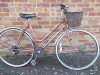 Vintage Ladies Harry Quinn Town Bicycle