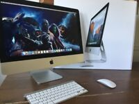 "21"" iMac 2.7GHz Quad Core i5- 8GB Ram- 1TB Hard Drive- Boxed Like New"
