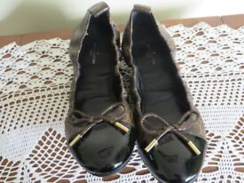 LOUIS VUITTON LADIES BALLERINA LEATHER SHOES