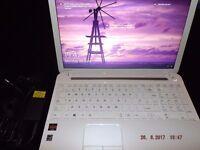 "Toshiba C55 Laptop windows 10 1000gb hard drive 1tb hdd 6gb ram 15.6 "" hdmi wifi usb case & charger"