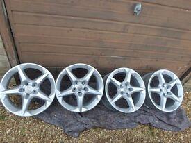 vauxhall penta alloy wheels