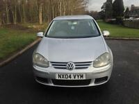 Volkswagen Golf 1.6 FSI SE Hatchback 5dr Petrol Manual (163 g/km, 113 bhp)with long mot