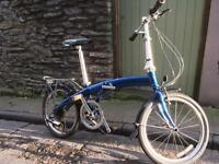 Dahon Mu folding bike foldable commuter train bicycle SRAM 8 gears
