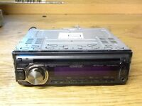 KENWOOD KDC-4547U FACE OFF CD & MP3 PLAYER,FRONT AUX & USB CONNECTION,IPOD