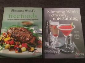 2 x Slimming world books