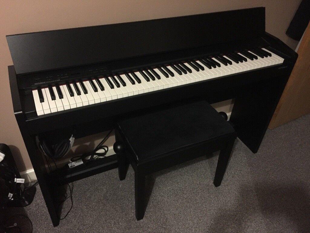 roland digital piano f 140r in cambridge cambridgeshire gumtree. Black Bedroom Furniture Sets. Home Design Ideas