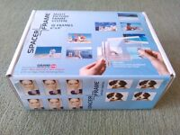 SPACERFRAME MULTI PICTURE FRAME SYSTEM