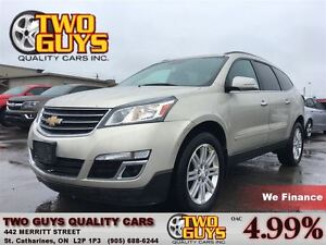 2013 Chevrolet Traverse 1LT PANA ROOF QUAD SEATING 20 INCH WHEEL