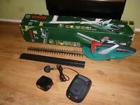 Bosch AHS 48 LI lithium hedgecutter/trimmer used once