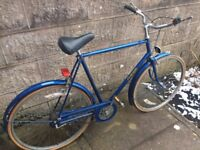 Raleigh courier 3 speed mens bike