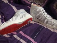 Brand new Christian Louboutin shoes in white size 8