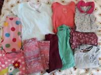 Girls 12-18 months job lot. 10 items