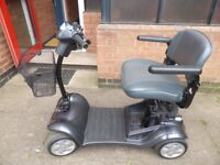 Kymco Mini LS Grey 4 Wheeled Mobility Scoooter