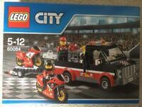 Lego City Great Vehicles Racing Bike Transporter Set, BNIB, 60084, RRP £35