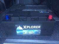 Leisure Battery (low height) - Xplorer XP110L