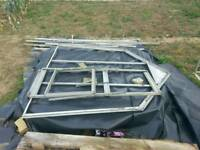 Greenhouse frame for sale
