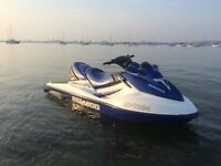 Seadoo Gtx 4tec 2002 140hr serviced roller trailer 155hp 4 stroke 3 seater Jetski wakeboard pole