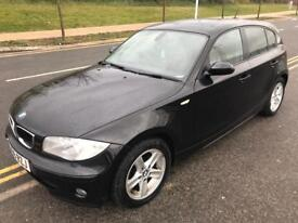 2007 BMW 118I SE IN EXCELLENT CONDITION, DRIVES GREAT,LOW MILES 70000 FULL SER HISTORY,1 YEAR MOT