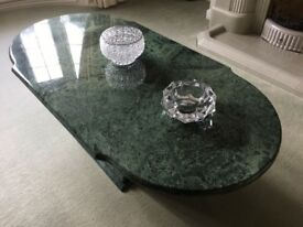 Genuine solid marble coffee table £350 Ono