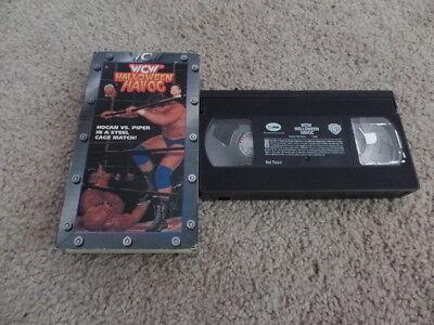 Halloween Havoc Wrestling (HALLOWEEN HAVOC 1997 wcw vhs wrestling HULK)