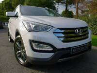 June 2013 Hyundai Santa Fe 2.2 CRDI SE PREMIUM 7 Seater! STUNNING! EVERY OPTIONAL EXTRA! FINANCE!