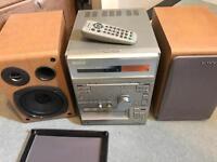 Sony CD & Cassette Hi-Fi player