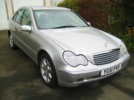 MERCEDES-BENZ C270 CDi ELEGANCE AUTOMATIC - ONLY 69,000 MILES