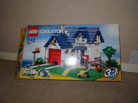Lego Creator 5891. 3-in-1 House