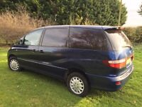 EXCELLENT TOYOTA PREVIA 8 SEATER MANUAL 2.3 PETROL - YEARS MOT, LOOKS AND DRIVES SUPERB