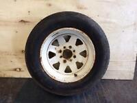 Weller wheel 7x13 Vauxhall or Ford Yokohama 205/60x13 tyre