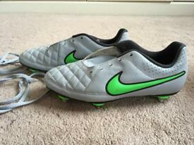 Nike football boots UK size 4