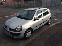 Renault Clio 2003 low milage 86000