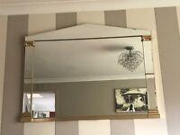 Art Deco Belgium bespoke mirror