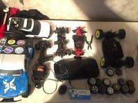 Rc job lot parts ( truck not included )