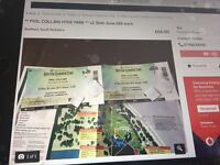 ** PHIL COLLINS HYDE PARK ** x2 30th June £55 each