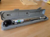 Clarke torque Wrench 1/2inch drive type CHT141