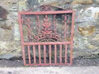 Wrought Iron Decorative Gate