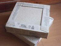 Beige Anti-Slip Riven Floor TileS 2 Boxes