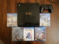 FF15 Limited Edition Playstation4 1TB console with 5 games