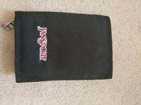 New Jansport black wallet