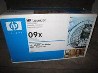 HP laser jet print cartridge. maximum capacity.