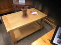 Solid oak coffee table * free furniture delivery*