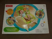 FISHER PRICE NEWBORN TO TODDLER PORTABLE ROCKER SEAT / CHAIR (BRAND NEW) *PRICE REDUCED*