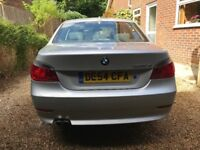 2004 silver BMW 525 2.5 litre diesel saloon with full years MoT